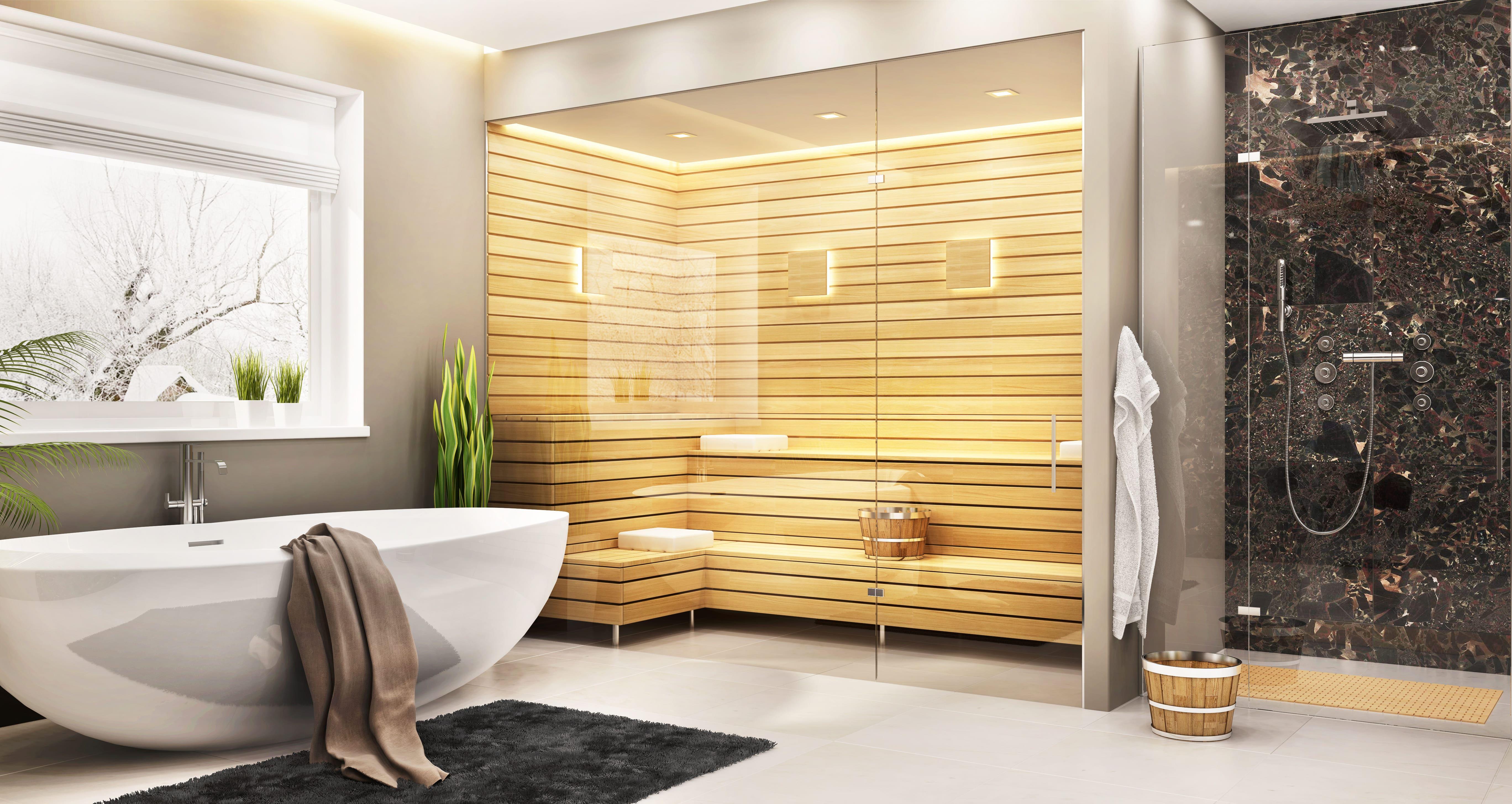 Sauna In Casa Consumi sauna in casa: il lusso di una spa domestica