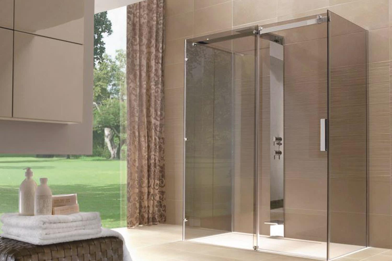 Come scegliere il box doccia - Cabina doccia senza piatto ...