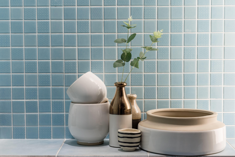 Piastrelle A Mosaico Per Bagno rivestimento per il bagno a mosaico per una stanza bella e